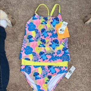 Girls NWT size 5 Stitch swimsuit